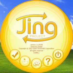 Jing screenshot app