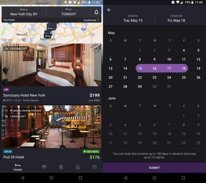 Hopper: a lovely app for travelers