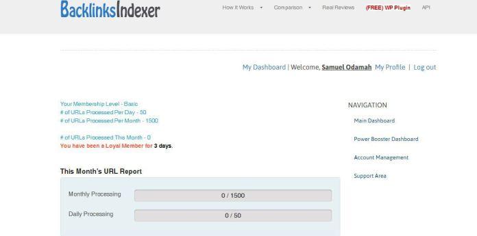 Backlinks Indexer tutorial