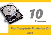 Reasons for Partition Data Loss on Hard Disk Drives