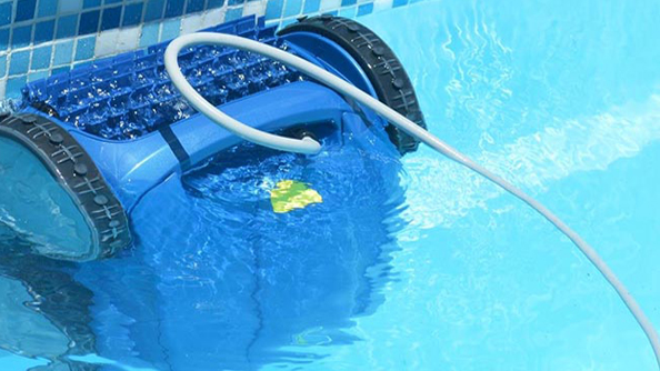 why a robotic pool cleaner?