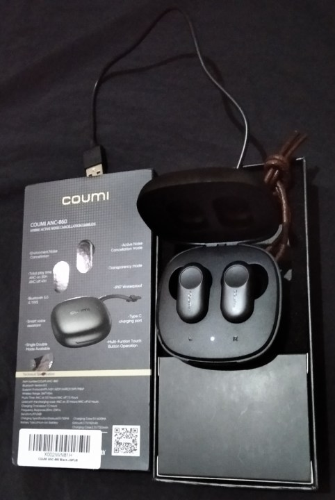 COUMI Hybrid ANC Wireless Earbuds Review