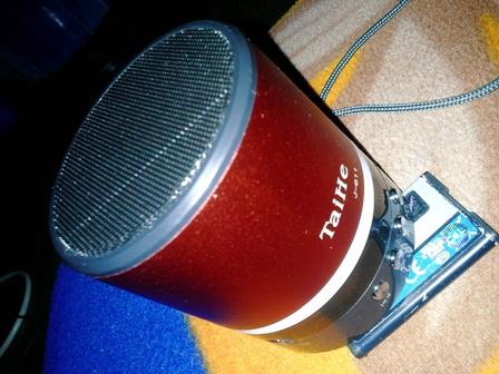 TaiHe J-611 Mp3 Player with Digital FM Radio