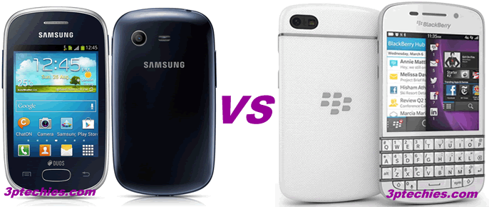 Samsung galaxy star vs blackberry q10
