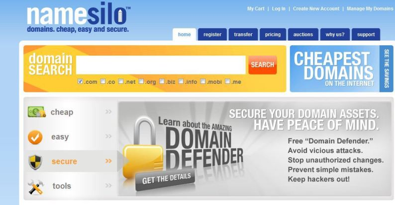 Namesilo Review: 10 Solid Reasons to Switch to them