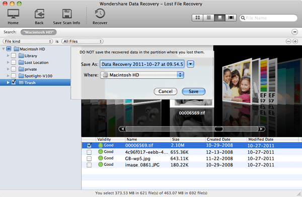 tutorial on how to recover lost files on Mac