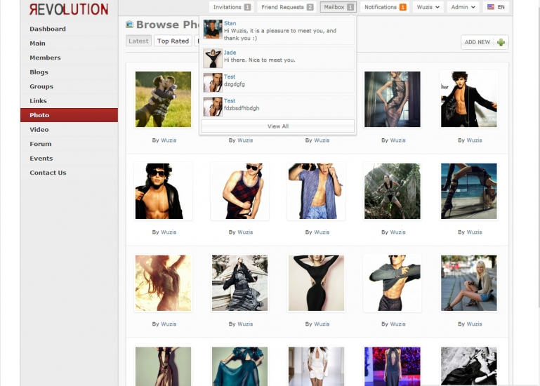 revolution oxwall theme