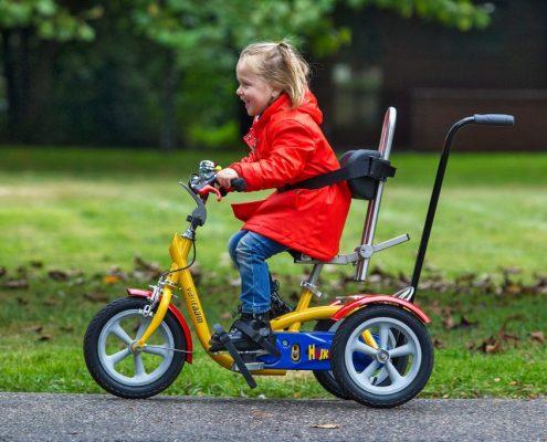 Kinderrad für Beeinträchtigte
