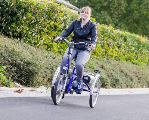 Dreirad für beeinträchtigte Jugendliche Van Raam Midi
