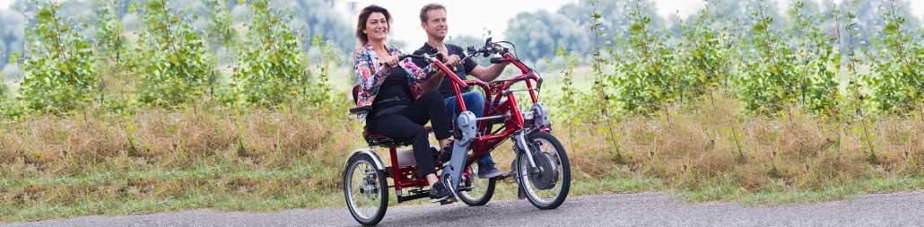 Spezialfahrräder Clever Cycling Behindertenfahrrad E