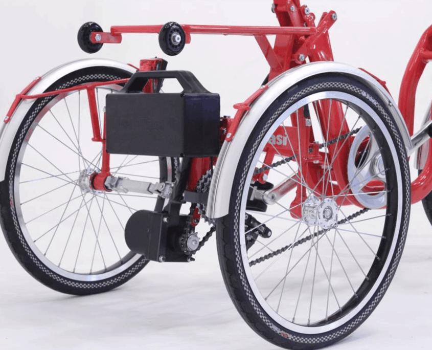 Klappdreiräder Di Blasi Clever Cycling Behindertenfahrrad