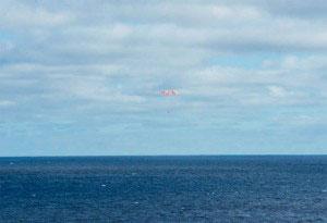 NASAオリオン宇宙船回収