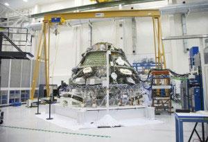 Orion,開発中の様子