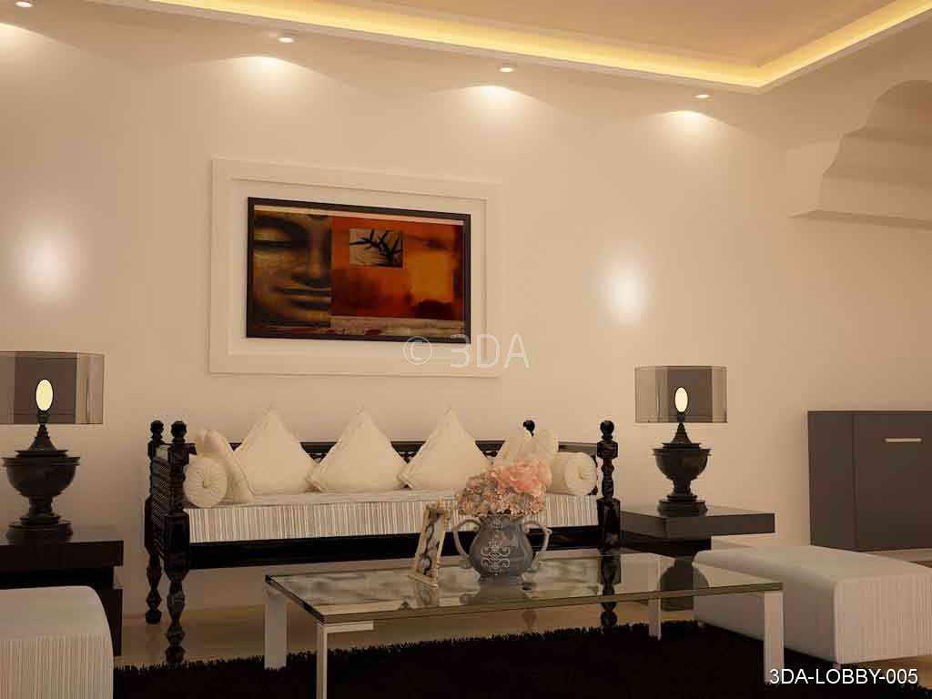 3DA Best Lobby Interior Decorators In Delhi And Best