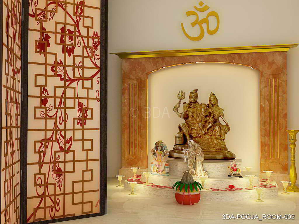 Best Kitchen Gallery: 3da Best Pooja Room Interior Decorators In Delhi And Best of Pooja Room Designs on rachelxblog.com
