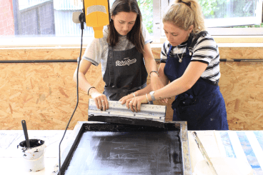 Mini Tote or Tea Towel Printing Workshop