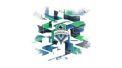 Seattle Sounders FC artwork produced by Stefan Frei.