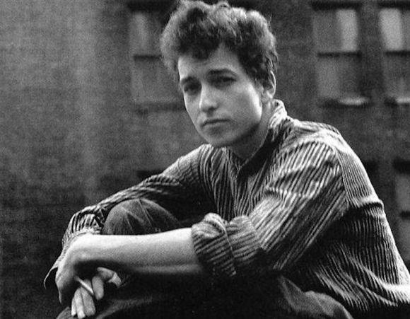 Bob Dylan, circa 1960. Photo by Unknown. Royalty free image.
