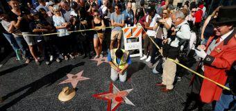 Donald Trump's Hollywood Walk of Fame Star is Defamed