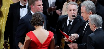 Accountants receive death threats via social media after Oscar blunder.  Security guards placed outside homes