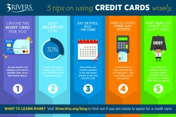 5 Ways to Use Credit Cards Wisely