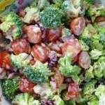Summer Cabin Broccoli Salad