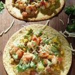 Shrimp & Avocado Tostados