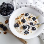 Off-the-Farm Blackberry Overnight Oats