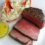 Simple But Elegant Surf & Turf: Filet and Lobster for Two