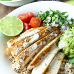 Chicken and Quinoa Burrito Bowls