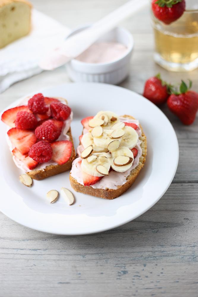 splendid summer fruit sandwiches