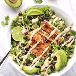 Chicken Chopped Salad with Quinoa and Black Beans