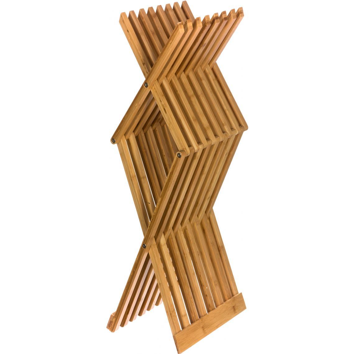 Tabouret Pliant En Bambou Beige Celine 3 Suisses