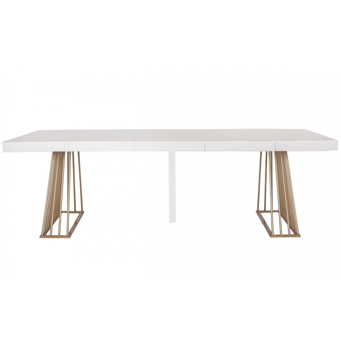 table extensible bois blanc extenso 3