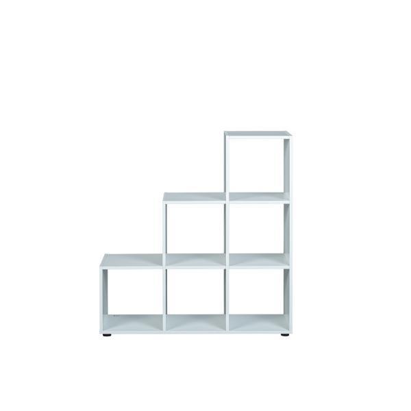 etagere de separation blanc 6 compartiments doreca