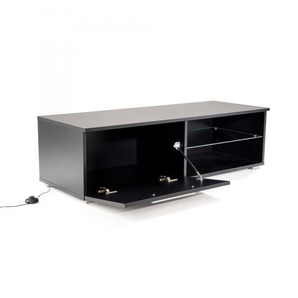 meuble tv led noir oklaho