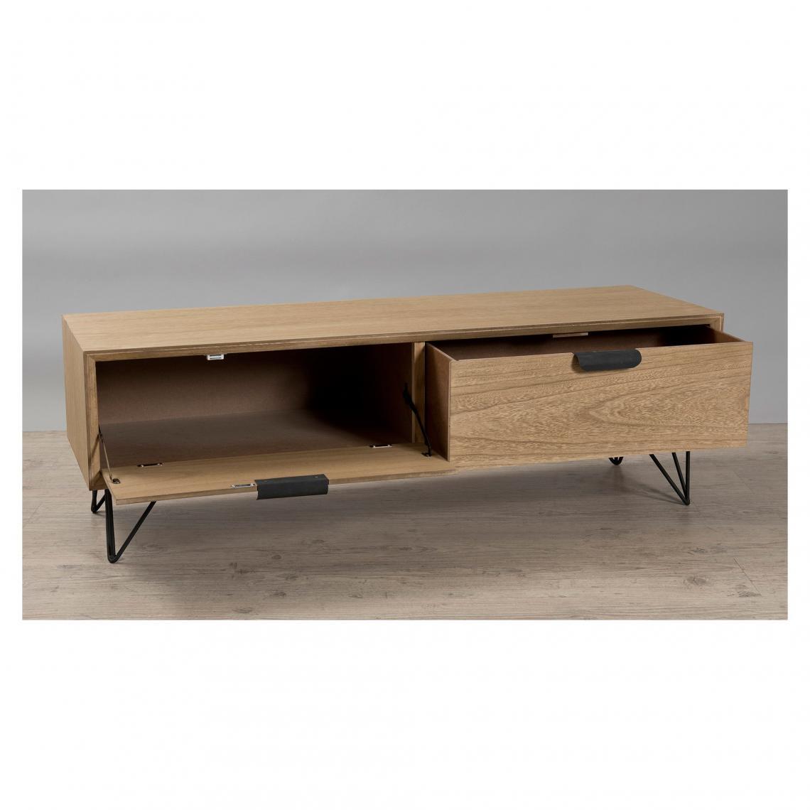 meuble tv rectangulaire 1 porte 1