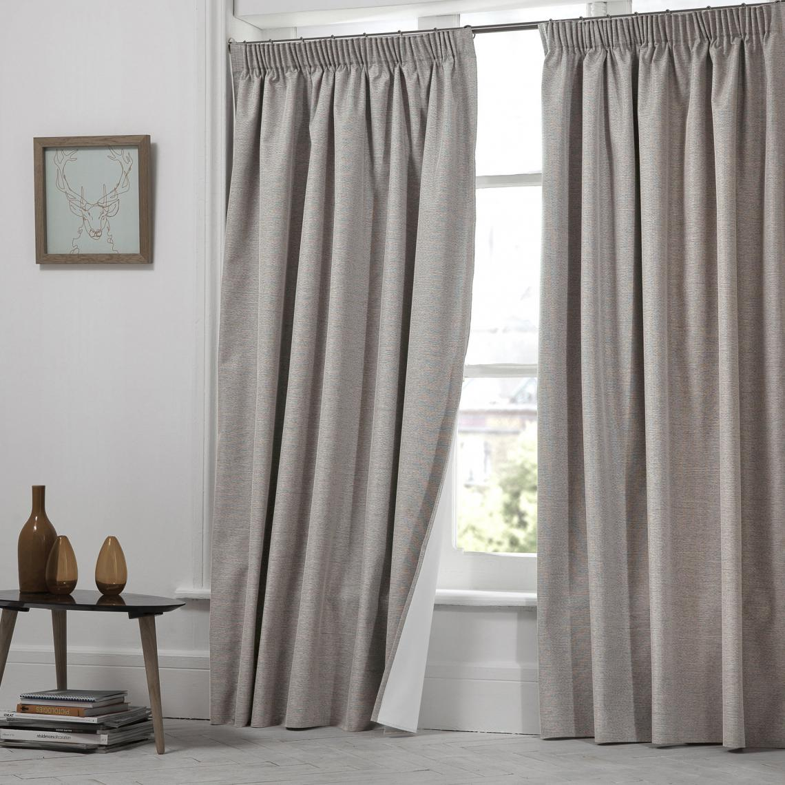 rideau occultant chine a oeillets moondream beige