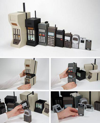 L'evoluzione del cellulare e del mondo mobile, in uno scatto