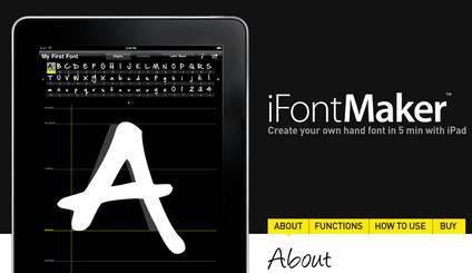 Create il font della vostra calligrafia con iPad in 5 minuti