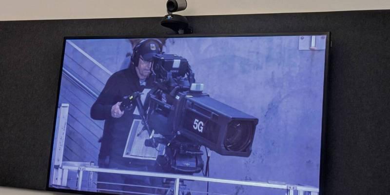 5G Super Bowl camera