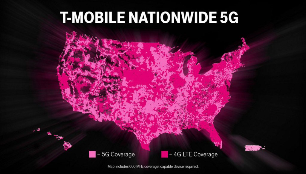 T-Mobile 5G Coverage Map