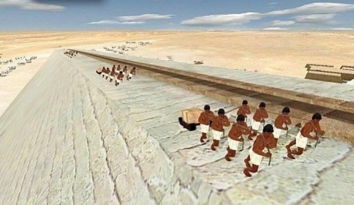 Resultado de imagen para construyendo las piramides
