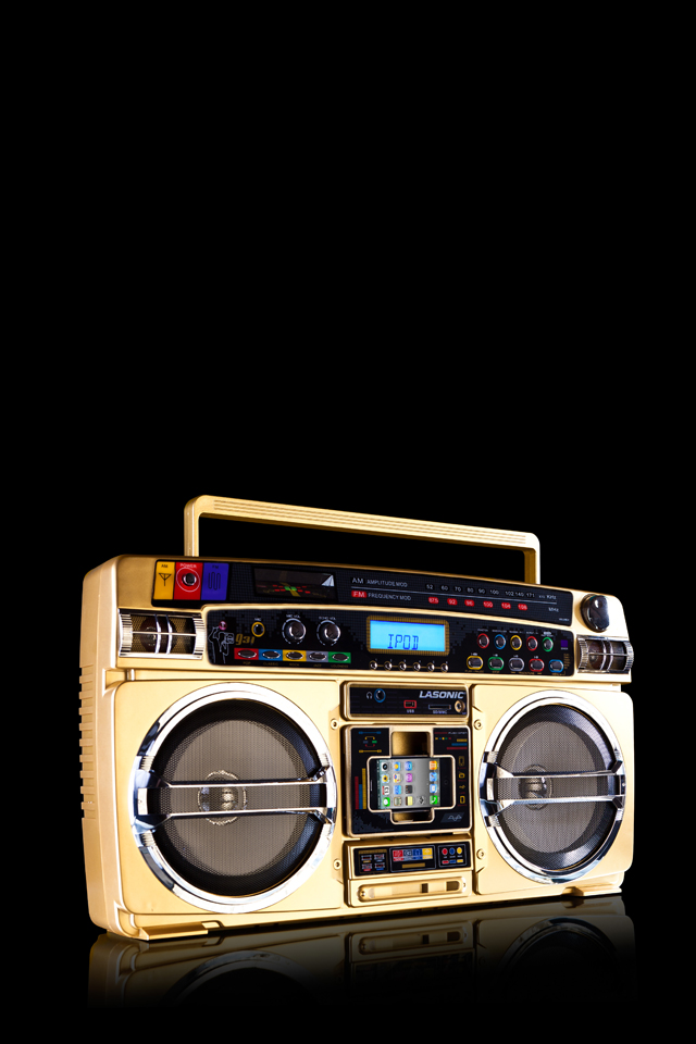 GhettoBlaster 3W iPhone Ghetto Blaster