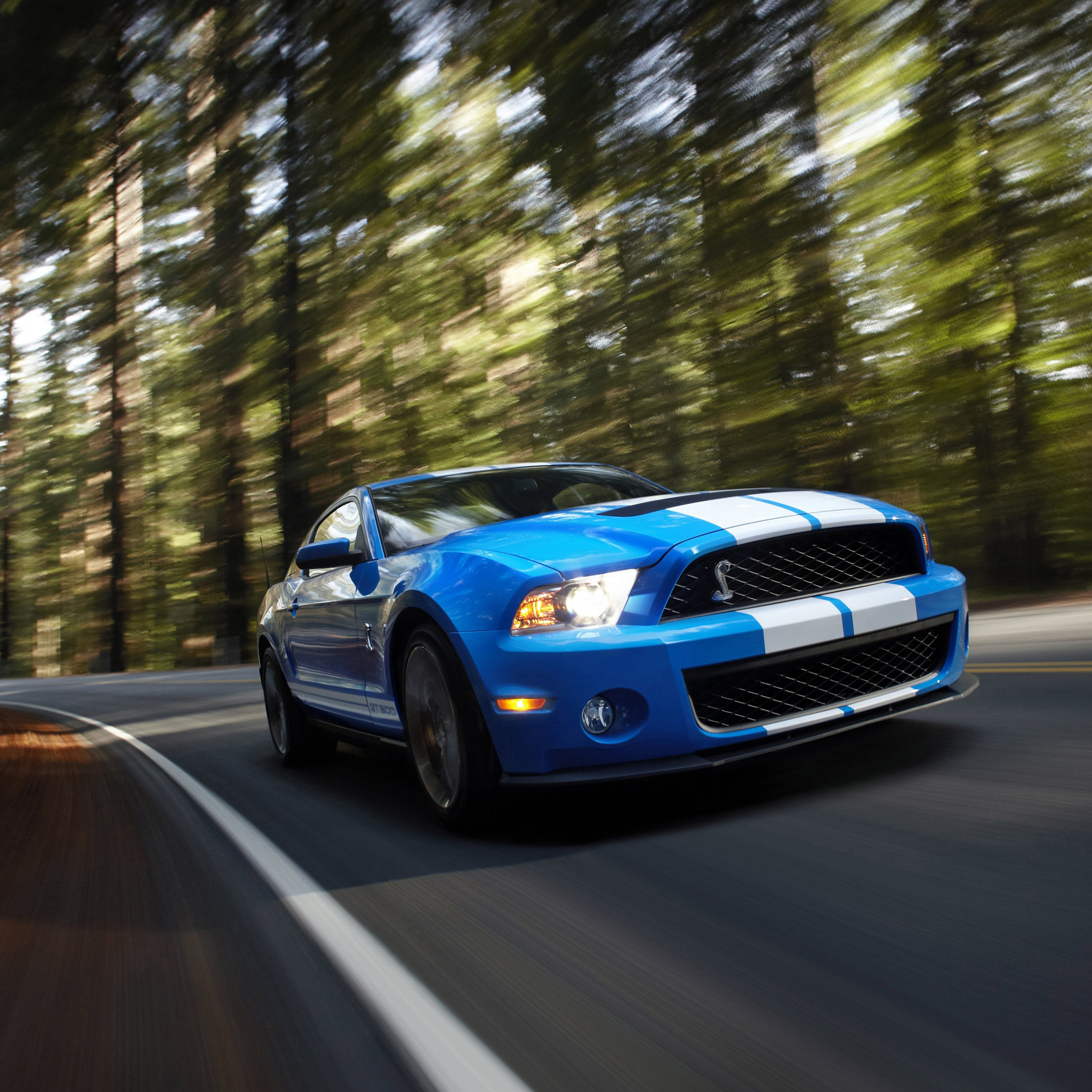 Ford Mustang Shelby GT500 3Wallpapers iPad Ford Mustang Shelby GT500   iPad