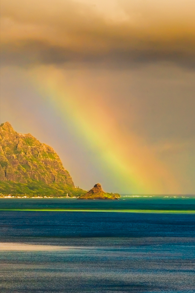 Kualoa Rainbow 3Wallpapers Kualoa Rainbow