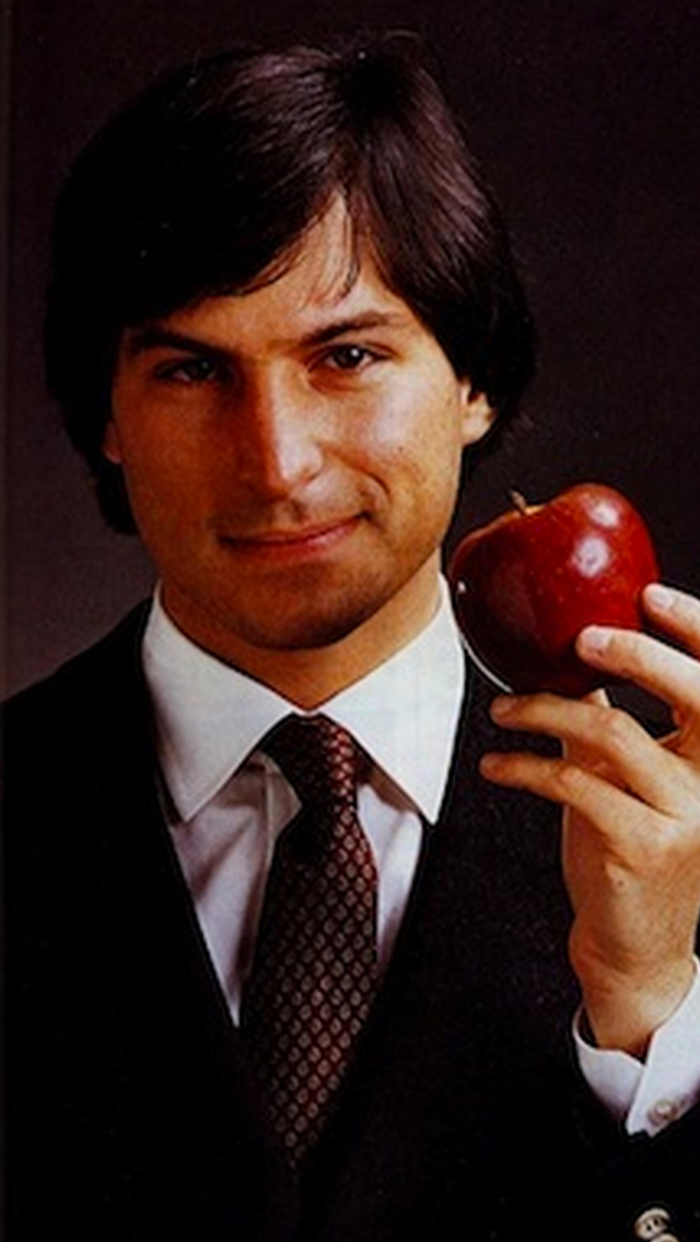 Steve Jobs 1976 3Wallpapers iPhone 5 Steve Jobs 1976