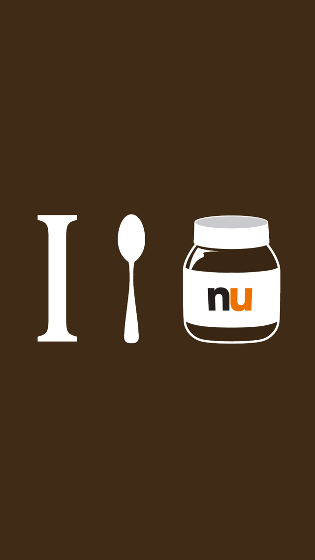 Nutella 3Wallpapers iPhone 5 Nutella