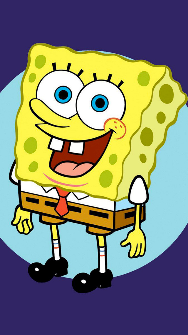 Sponge Bob 3Wallpapers iPhone 5 Sponge Bob