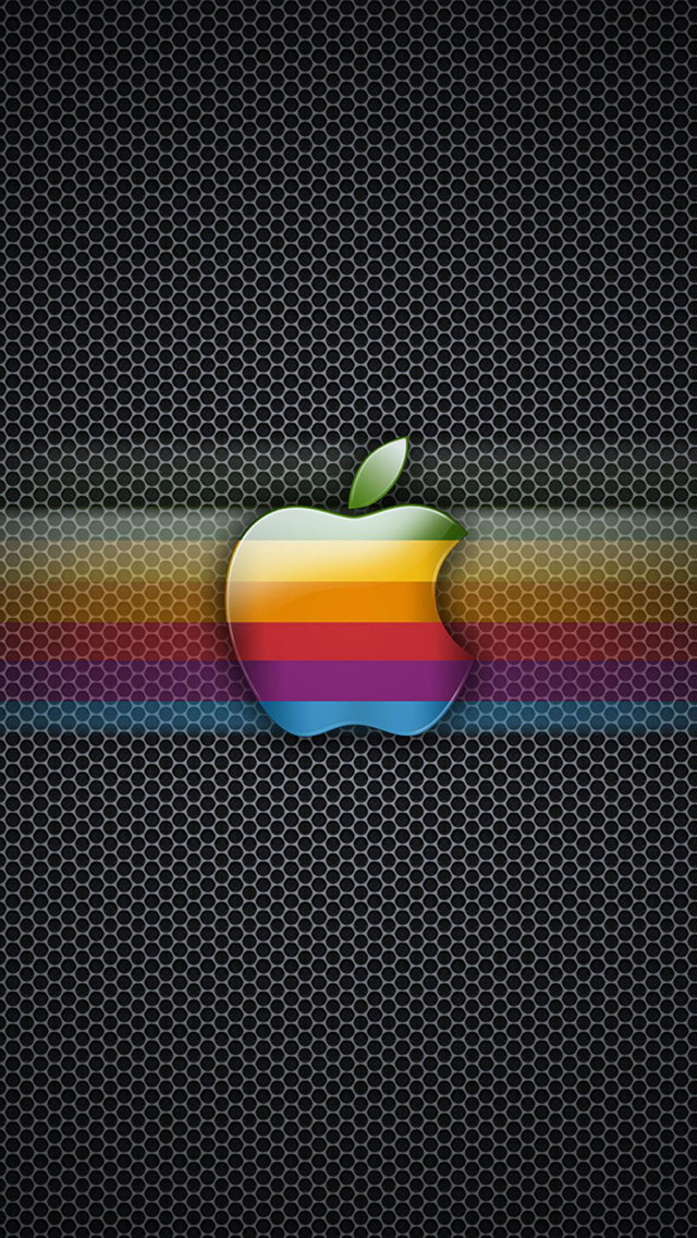 Apple Logo 3Wallpapers iPhone 5 Apple Effect